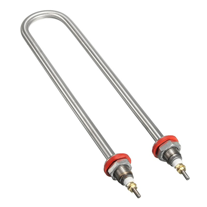 2kw u stainless steel water heater electric tube heating rods element 50mm
