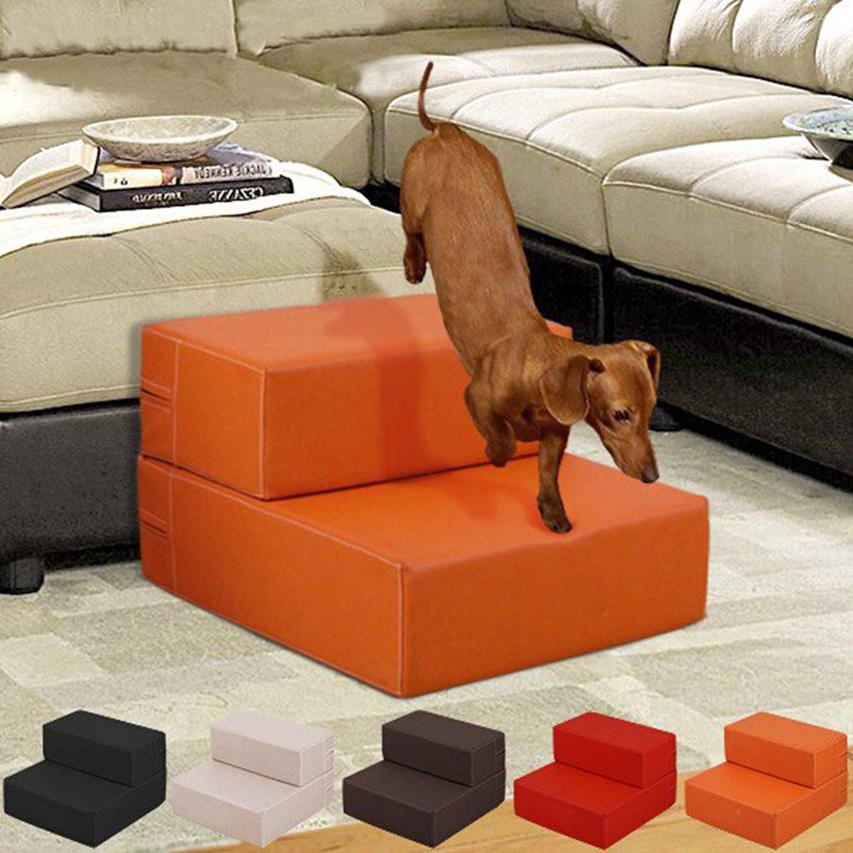 Aliexpress Com Buy Portable Dog Cat Pet Puppy Drinker: Folding Portable 2 Steps Dog Cat Pet Stairs Ramp Ladder