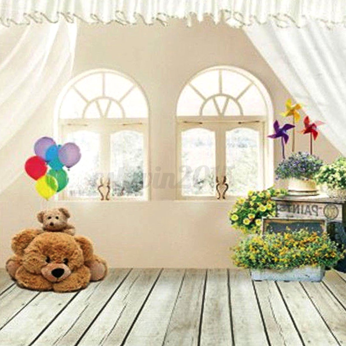 5x7FT Baby Kids Children House Photography Background ...
