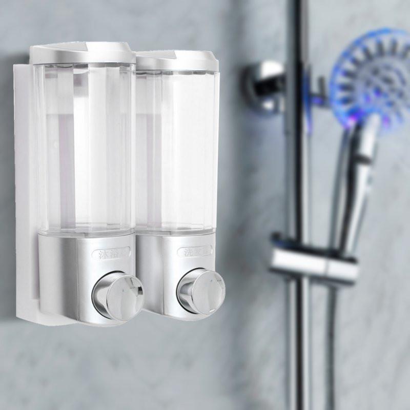 2x 500ml dispensador jabon champ cuarto de ba o ducha for Dispensador de jabon para ducha