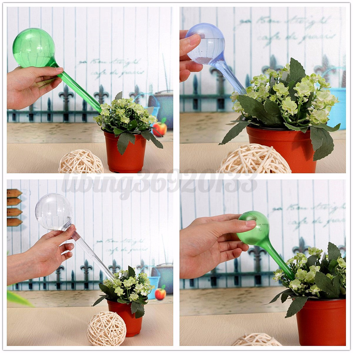 Irrigatore piante fiori automatico irrigazione for Irrigazione piante