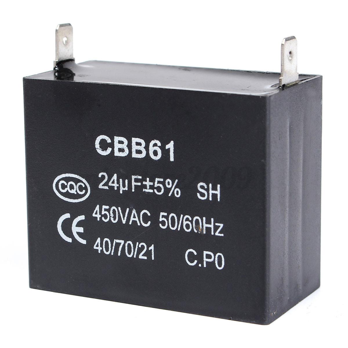 Cbb61 Capacitor 24uf 24mfd 450v Ac 450 Vac 50 60hz Fits