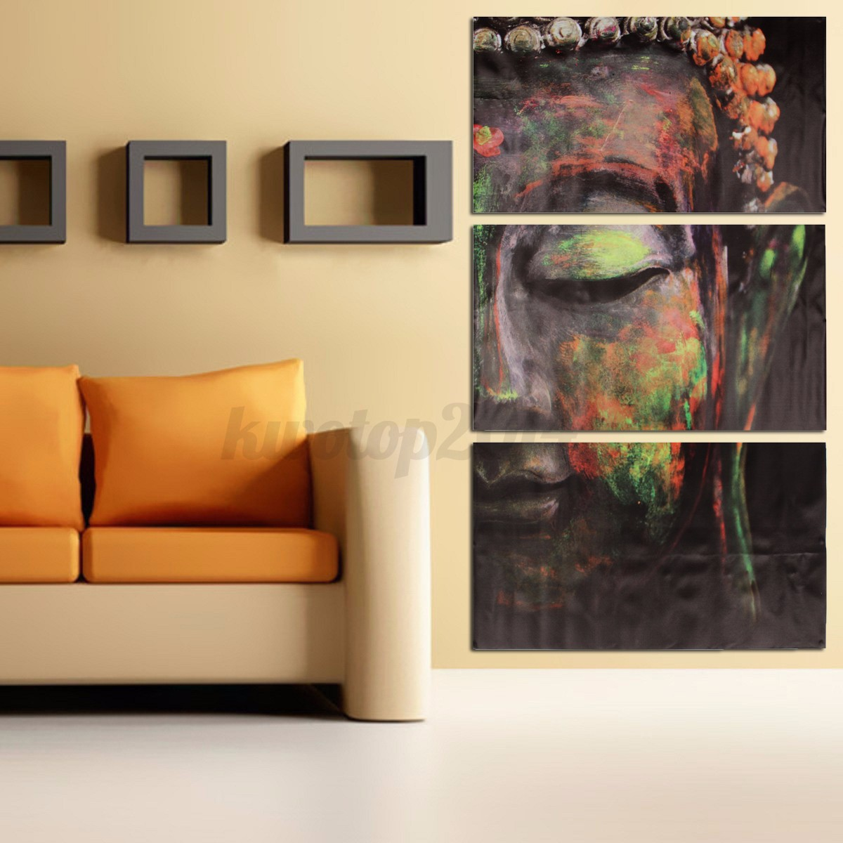 Modern canvas oil painting abstract art mural hanging wall for Canvas mural painting