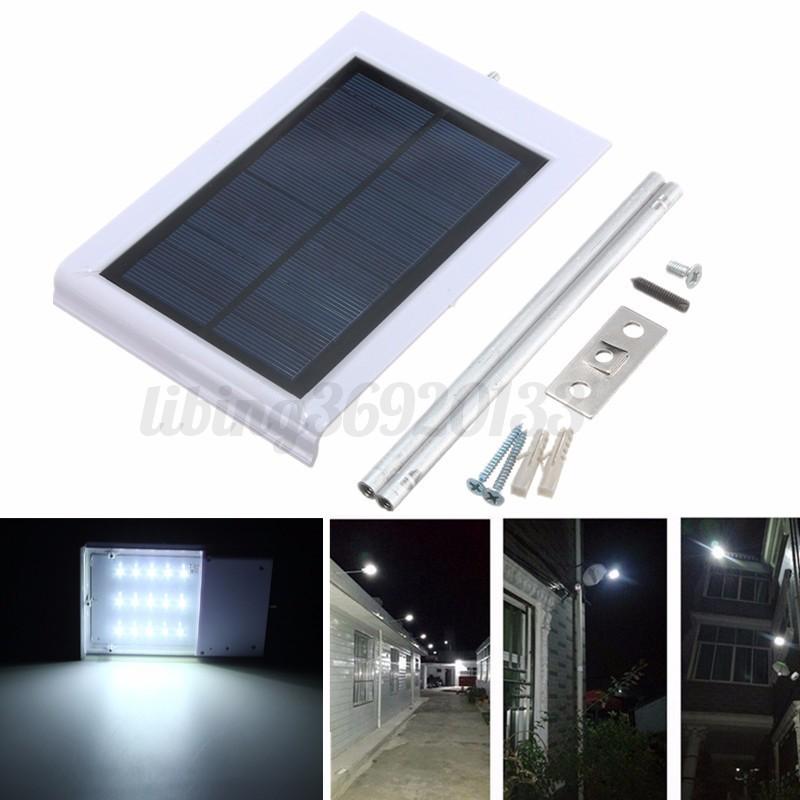 15 led smd lampe solaire lumi re mur d tecteur capteur for Lumiere mur exterieur