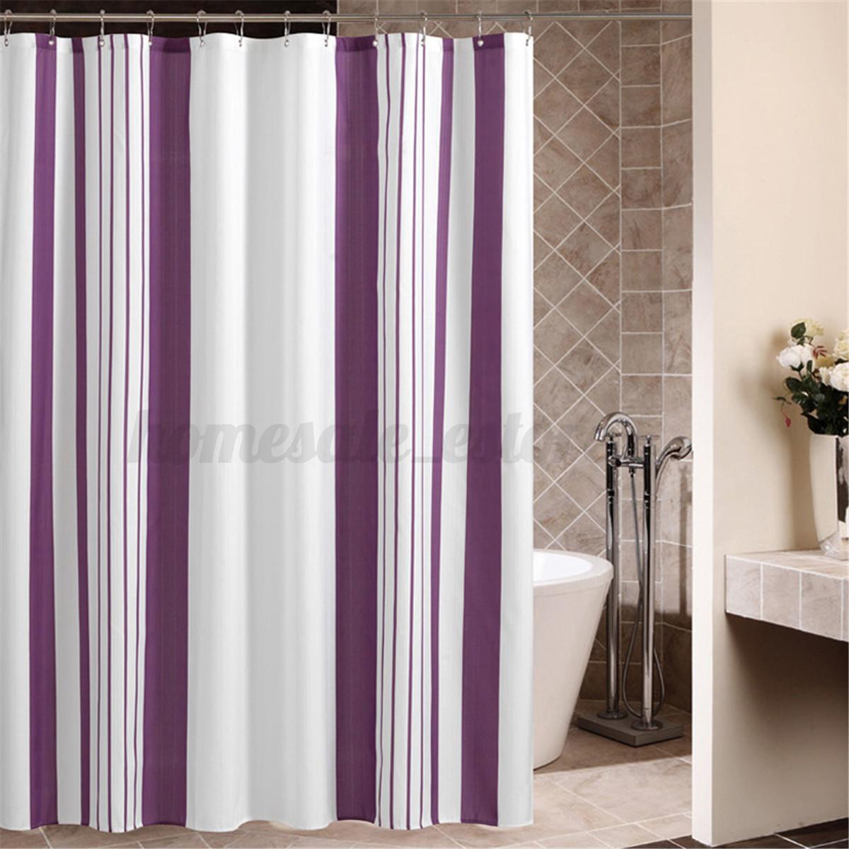Various modern waterproof bathroom shower curtain panel for File f bathroom