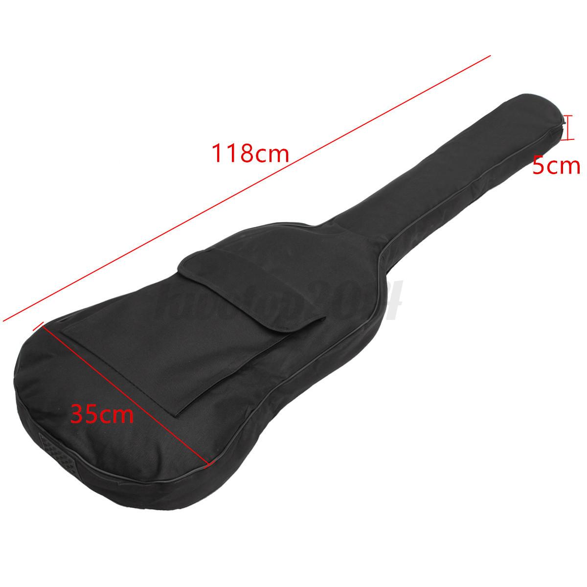Doppelte Reise-Bügel-E-Bass-Gitarren-Tasche gepolsterte weiche Fall-Rucksack-Gig