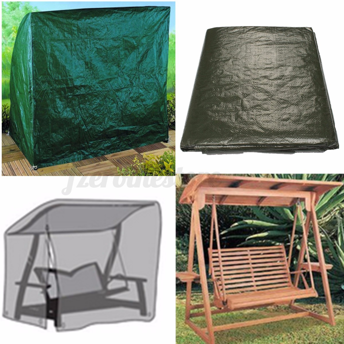 Waterproof Furniture Cover For Outdoor Garden Patio Bench