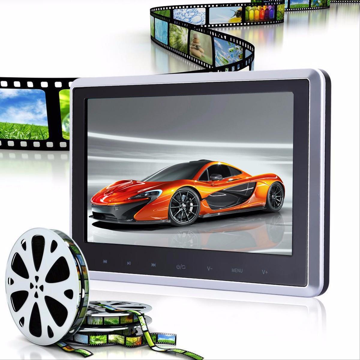 10 zoll lcd touchscreen tragbar auto kopfst tze monitor. Black Bedroom Furniture Sets. Home Design Ideas
