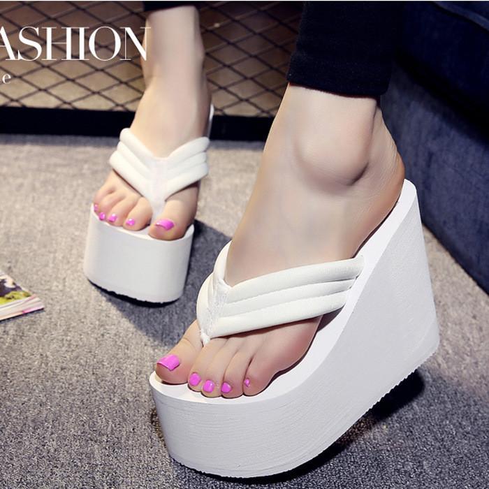Women-Wedge-Thick-Flip-Flops-Slippers-Platform-Thong-Sandals-Beach-Summer-Shoes