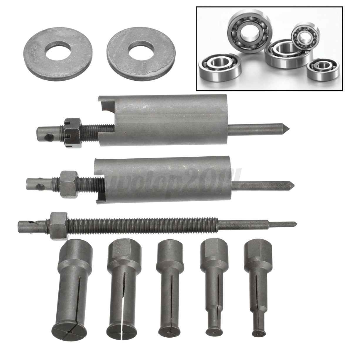 Bearing Puller Cad : Car auto motocycle inner remover kit mm demolition