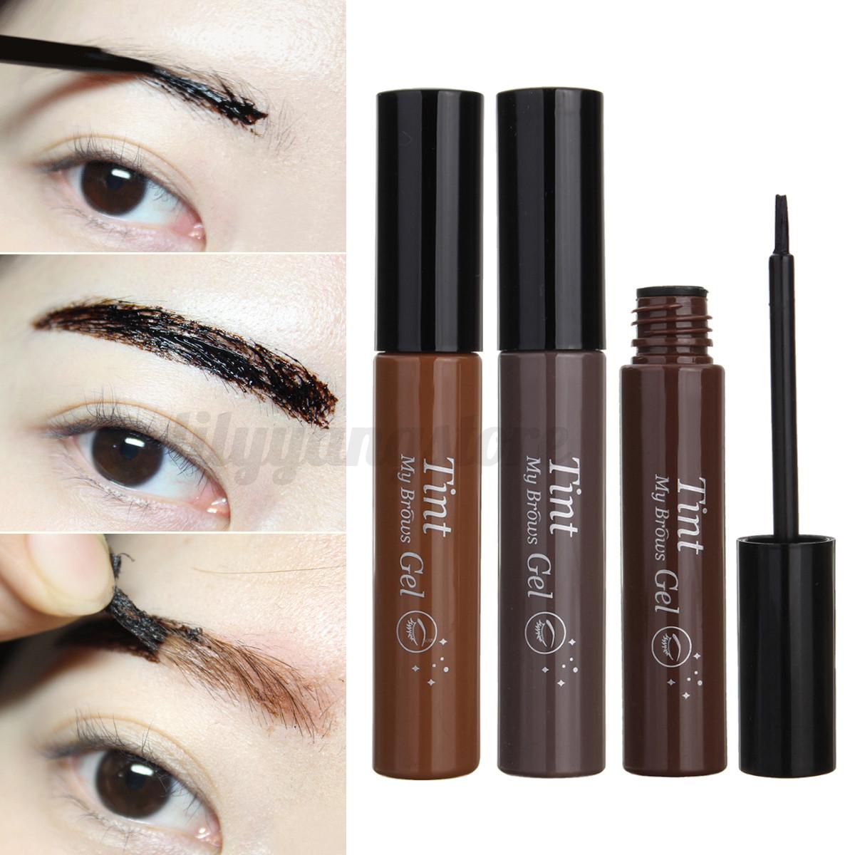 3 colors makeup peel off eyebrow tint my brows gel for Tattoo brow gel