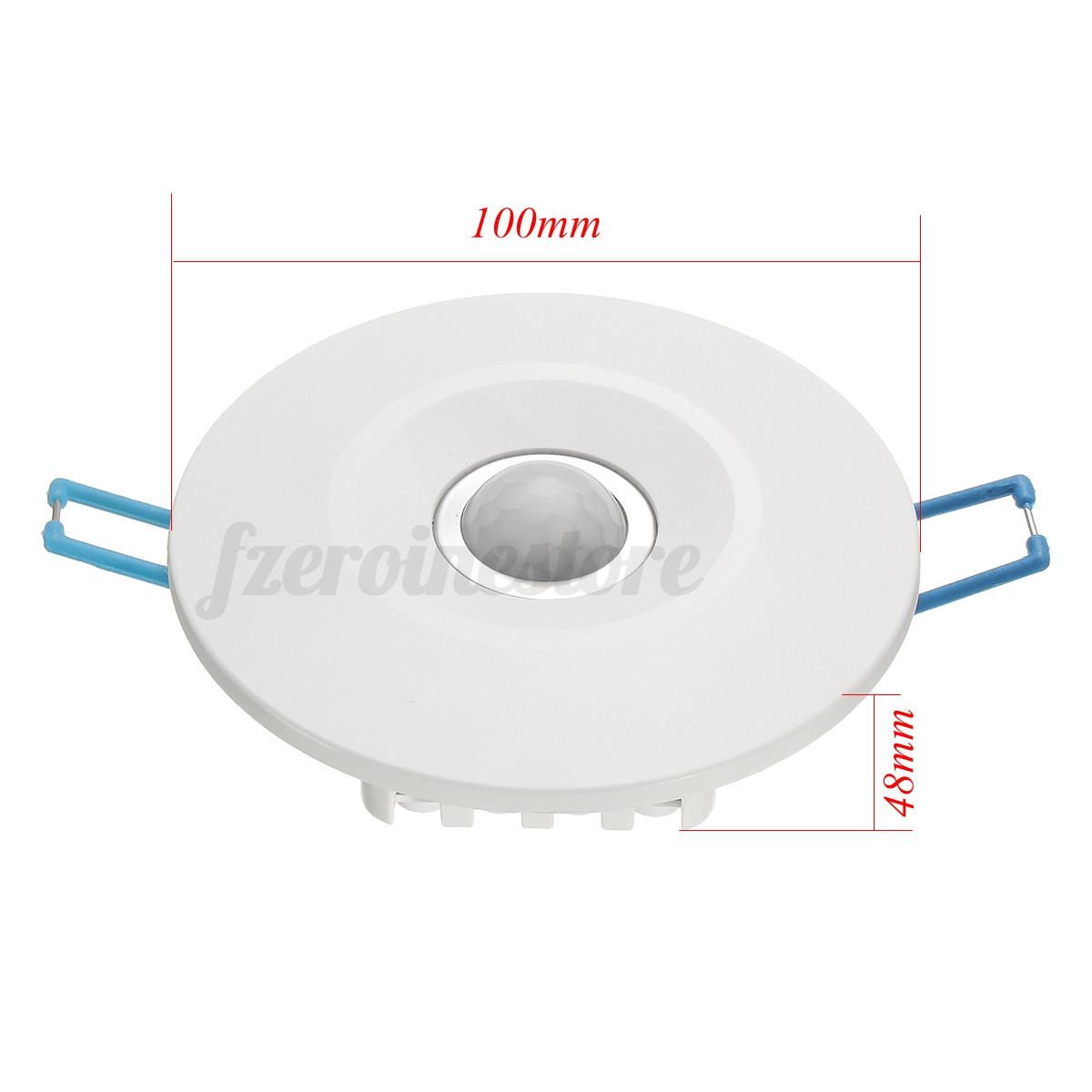 Livarno Lux Ceiling Light With Motion Sensor Instructions: 360° PIR Ceiling Occupancy Recessed Motion Sensor Detector