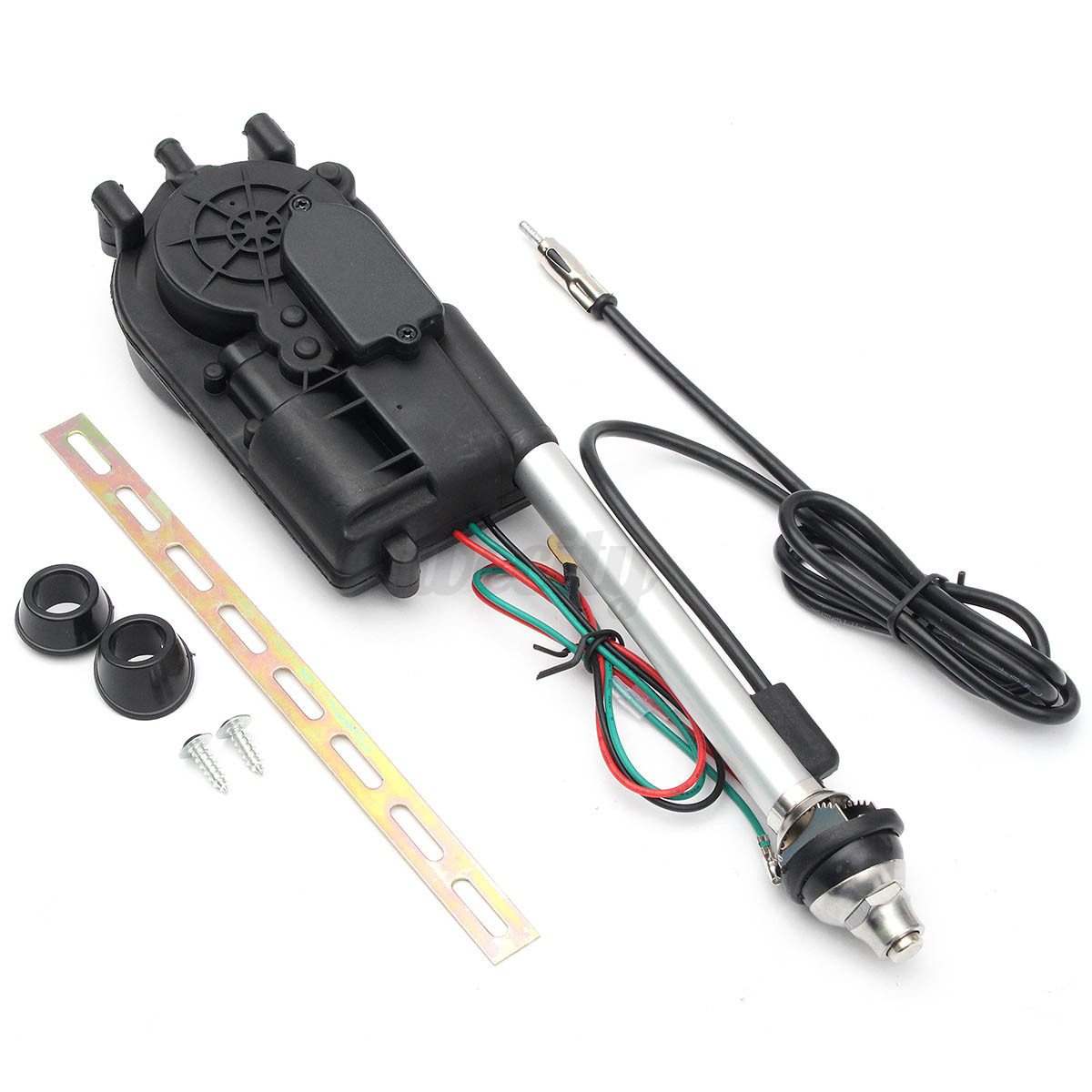 Radio Shack Electric Motor Kit: Universal Auto Car Power Electric Aerial Automatic Antenna
