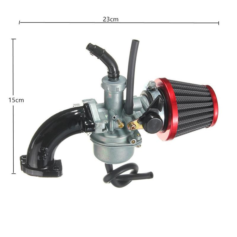 Carburetor Air Intake : Mm pz carb carburetor air filter intake pipe for cc