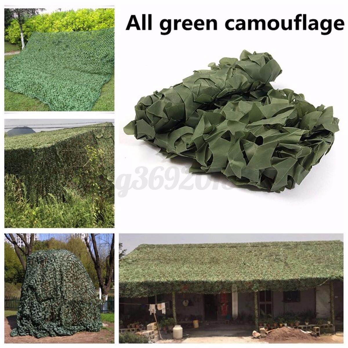 Tarnnetz 4 x 2m Camouflage Net Sichtschutz Sonnenschutz für