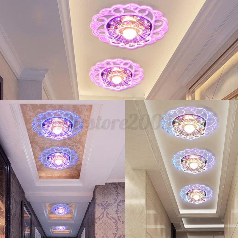 Plafonnier-LED-Cristal-Lumiere-Moderne-Lustre-Light-Plafonnie-Eclairage-Lampe