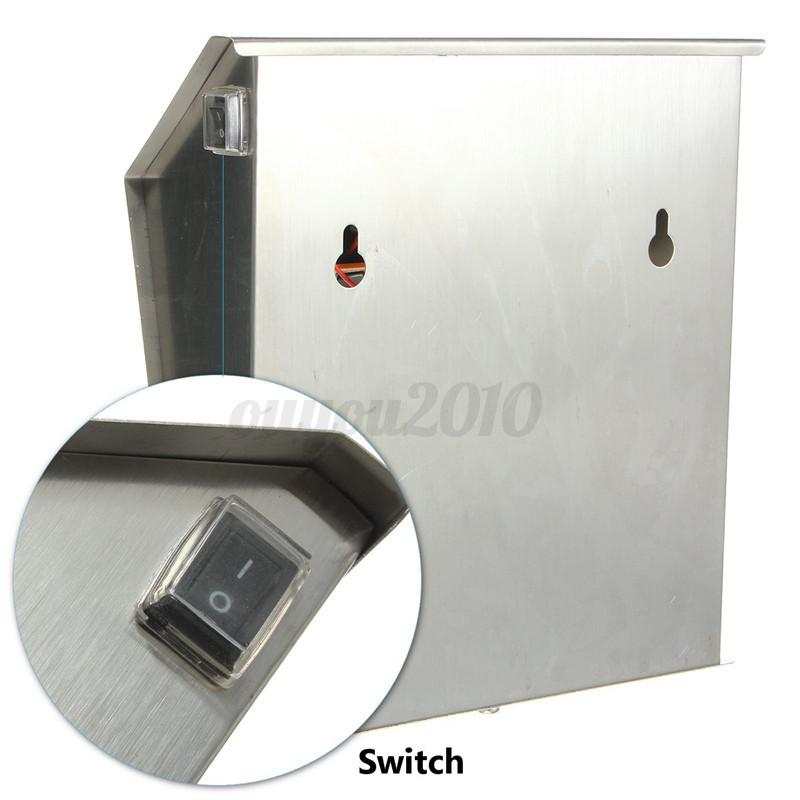 Solar Powered LED House Address Door Number Doorplate