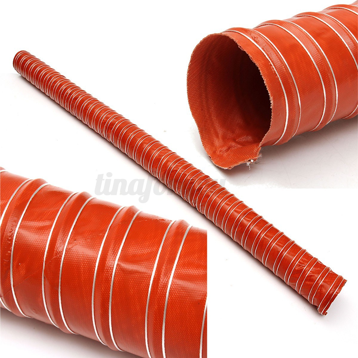 64mm 2 5 Quot Silicone Air Ducting Flexible Brake Cold