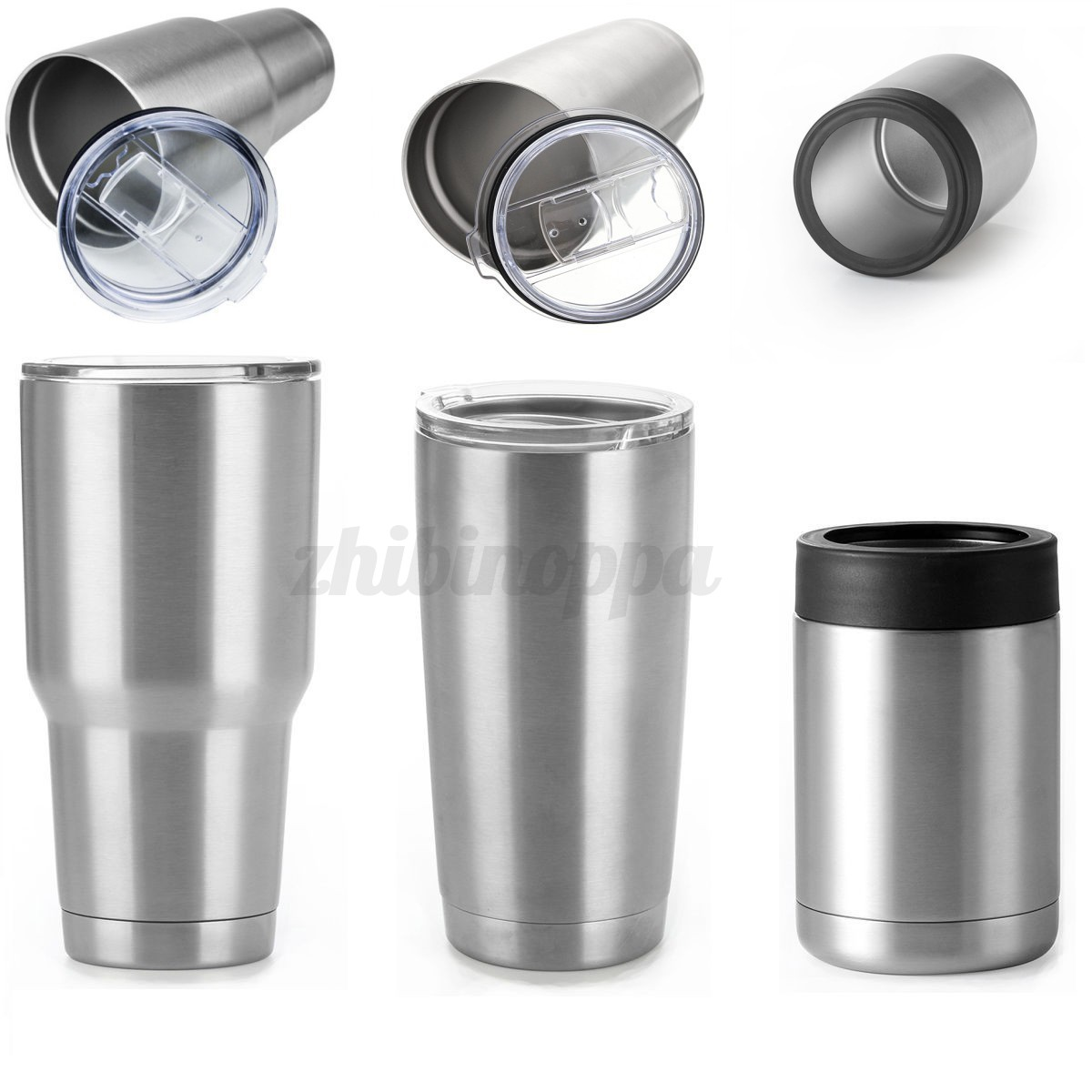 12 20 30 Oz Tumbler Stainless Steel Vacuum Insulated