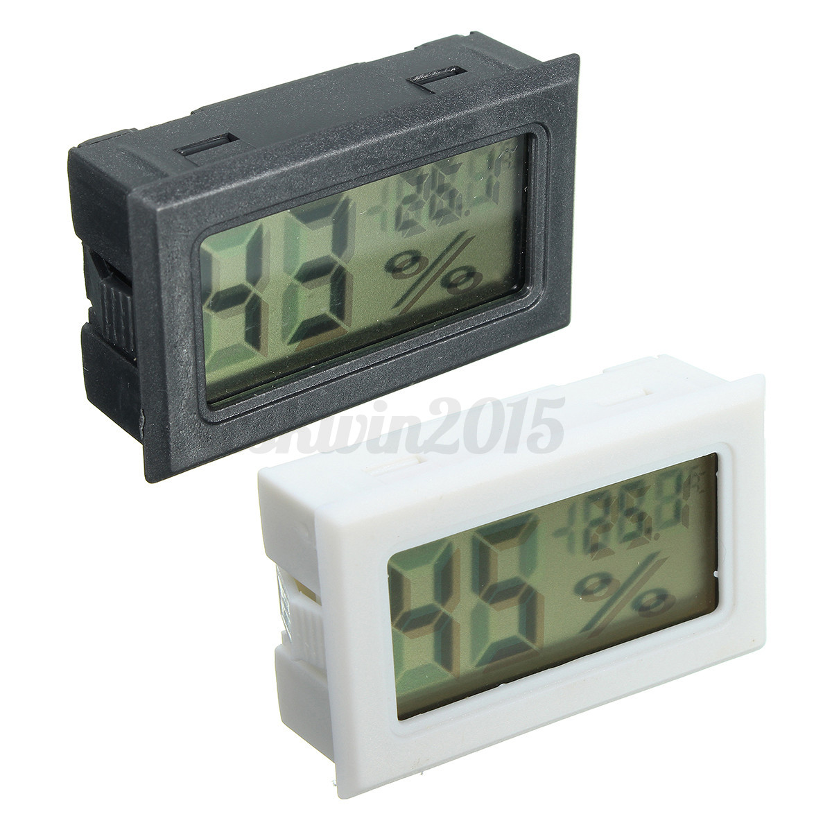 Digital Humidity Meter : Digital lcd cigar hygrometer thermometer humidity monitor