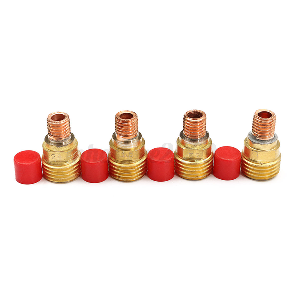 18x TIG Lanthanate Tungste Gas Lens Collet Body Kit Welding Torch For WP-9//20//25