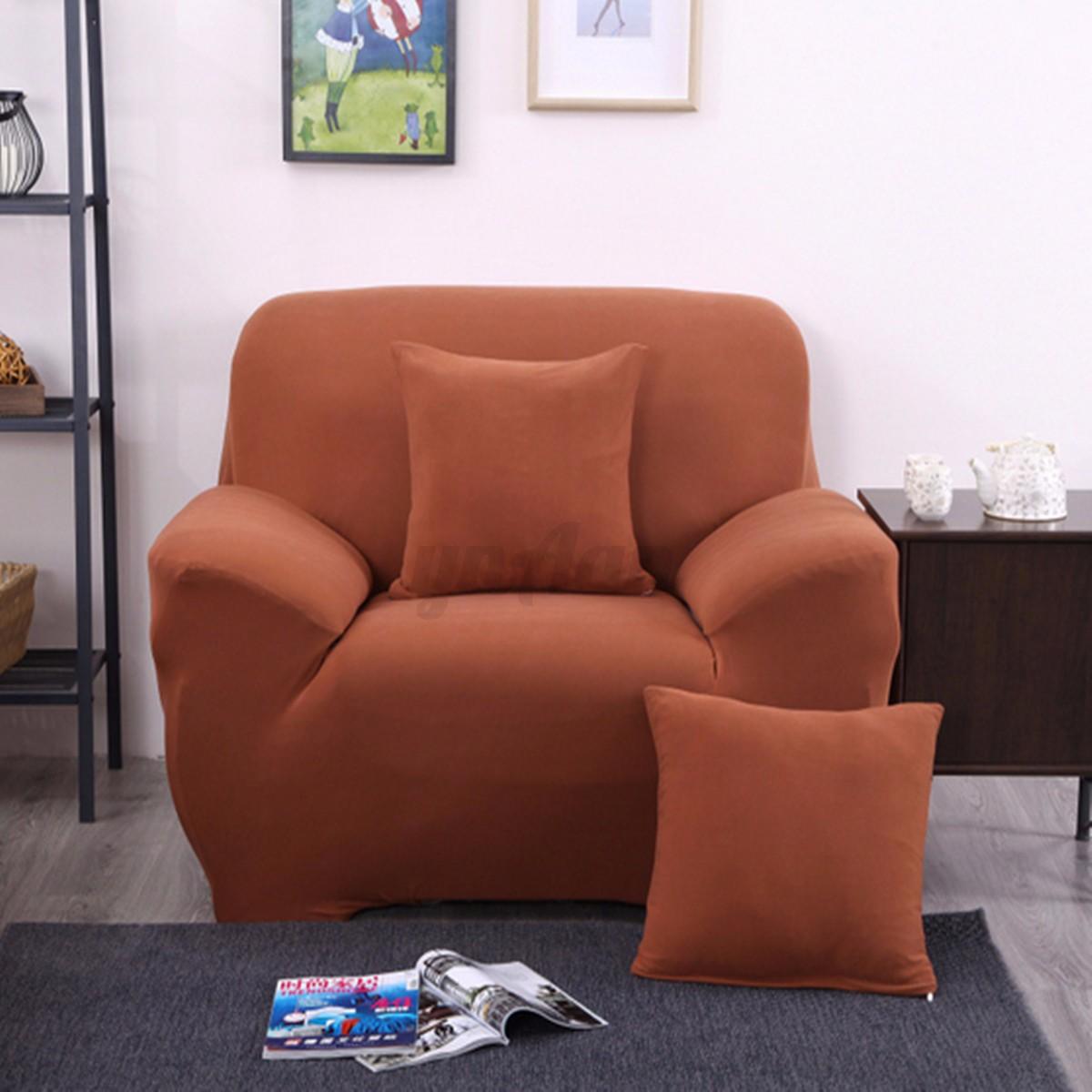l shape stretch elastic sofa chair pillowcase 1 2 3 seater. Black Bedroom Furniture Sets. Home Design Ideas