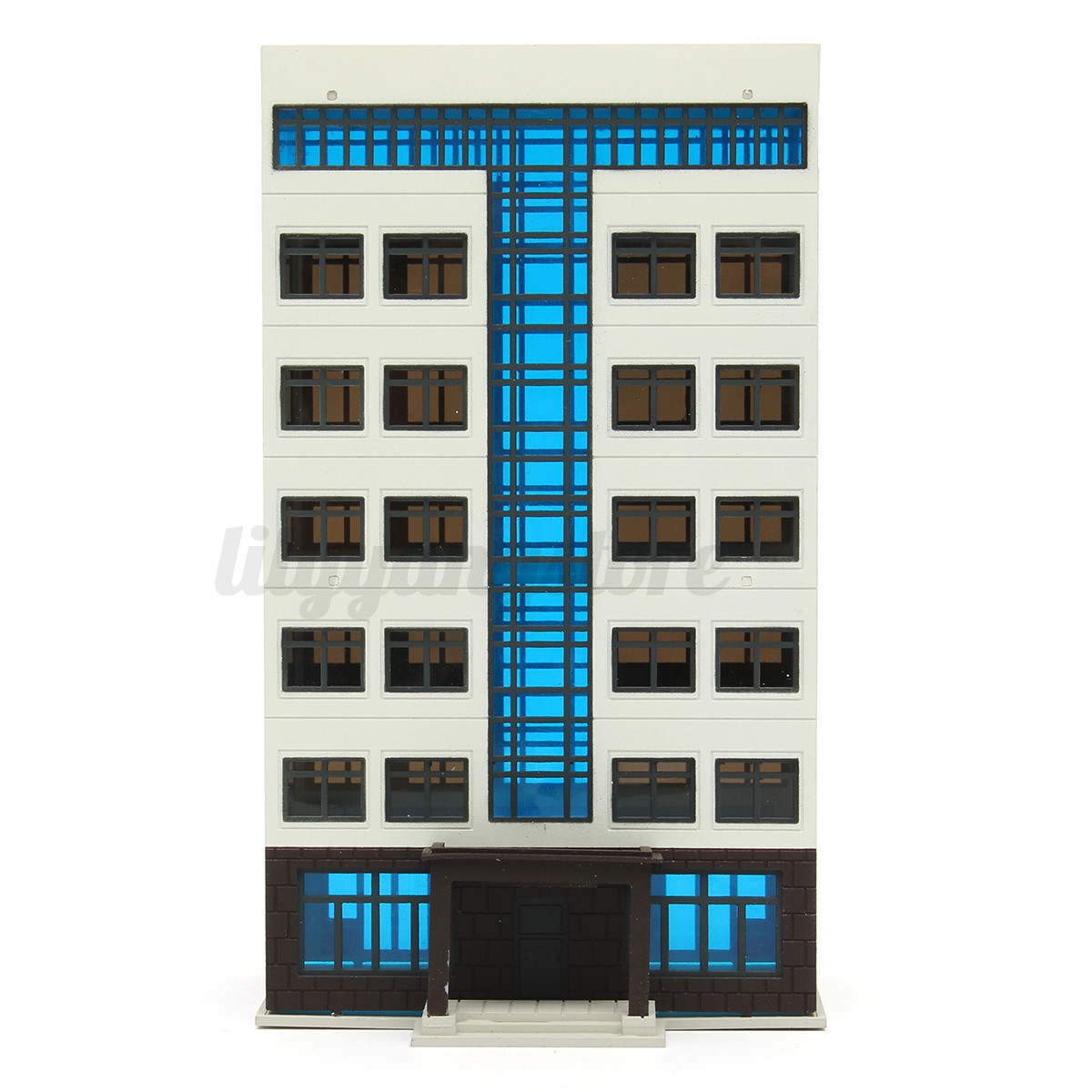 Types Of Apartment Buildings: N Scale Building ( Apartment Building ) 1:144 For HO Gauge