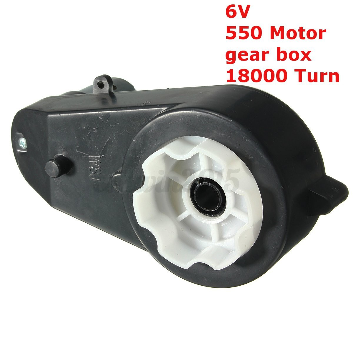 6v 18000 rpm electric motor gear box for kids ride on car bike toy spare parts ebay. Black Bedroom Furniture Sets. Home Design Ideas