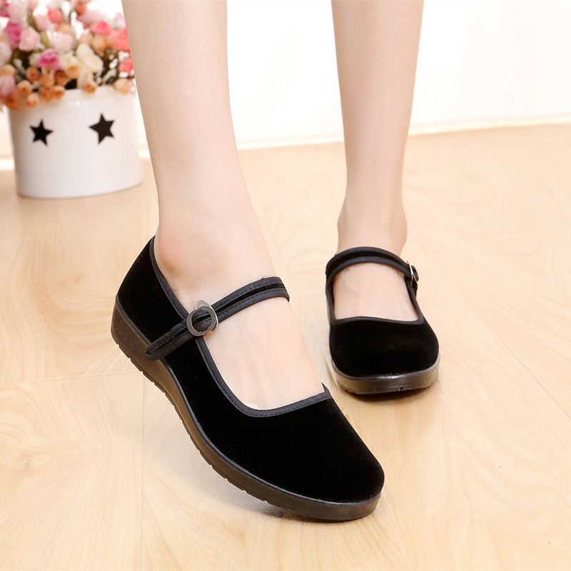 Ladies Chinese Mary Jane Shoes
