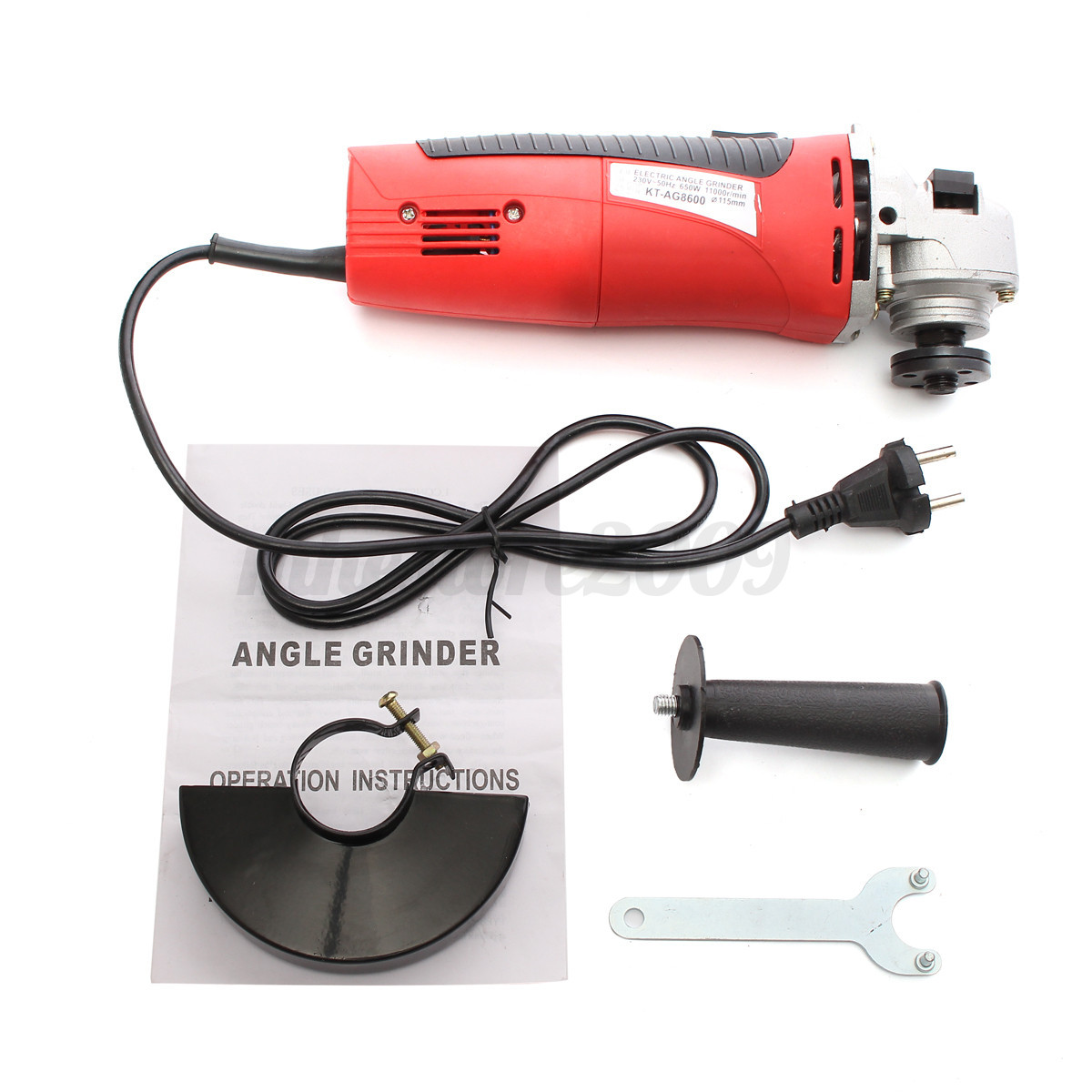 Electric Hand Grinder For Metal ~ Angle grinder quot electric metal cut off tool