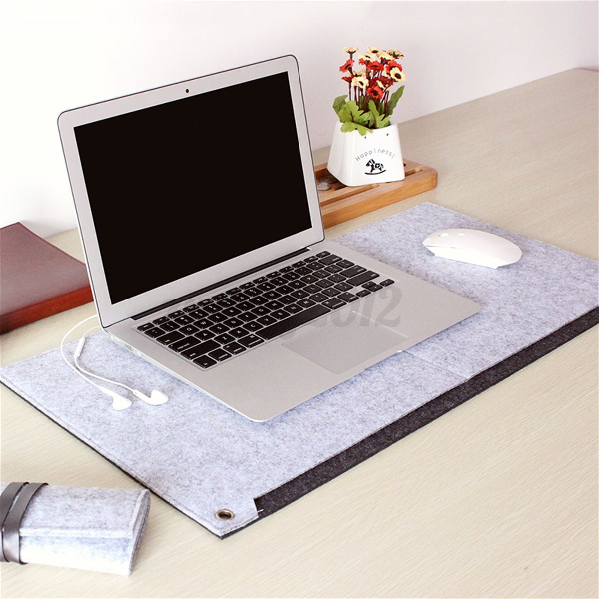 Office Computer Desk Table Pad Keyboard Mouse Mat Wrist ...