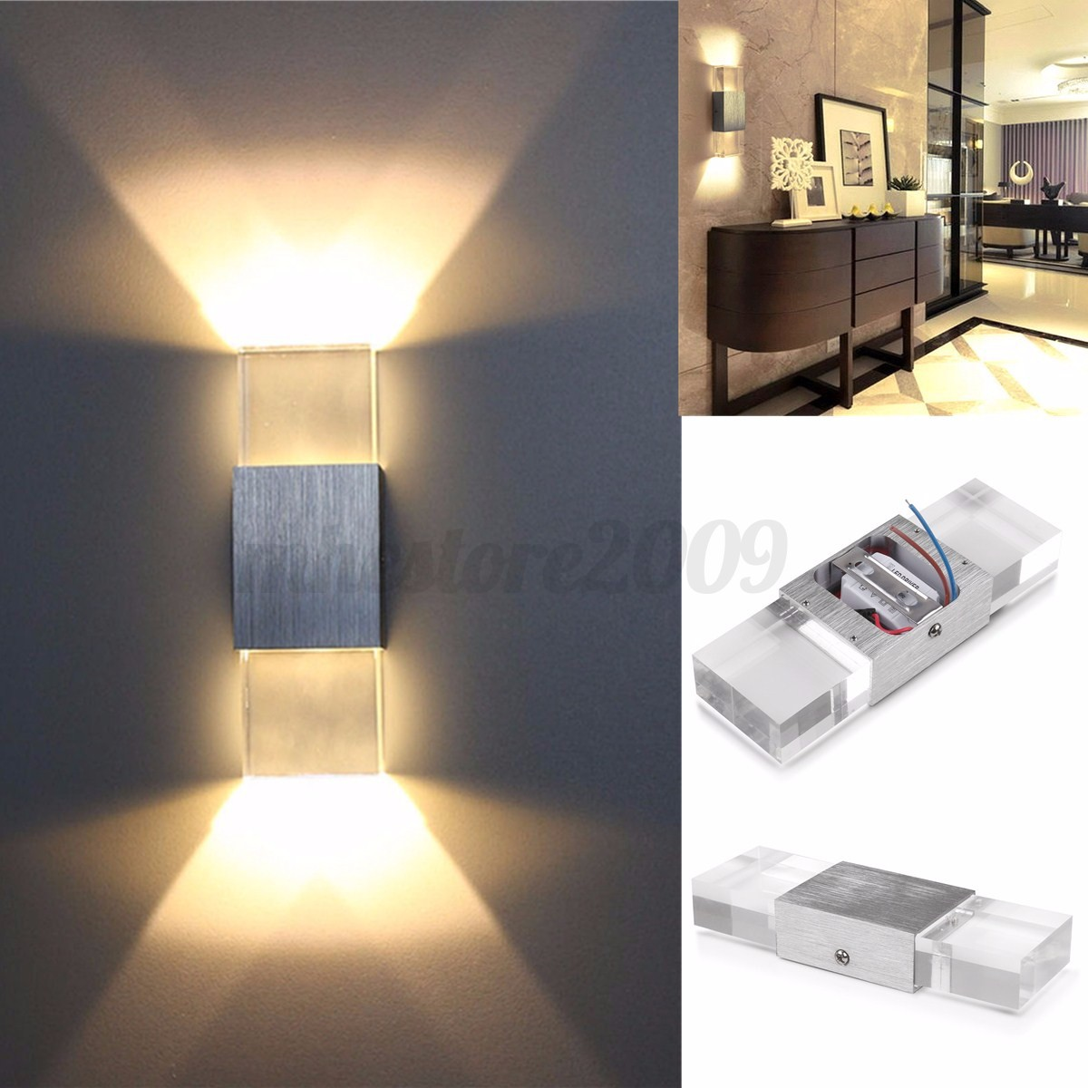 modern 2w led wall light up down l sconce spot lighting 13761 | 31d79286568c8b90276a9a2303cf93d663c70cc79e9a9d3393d2cf7ec74633d2237343c684d29a99c99dd2cccbff8393162346536356ee5663f5ce
