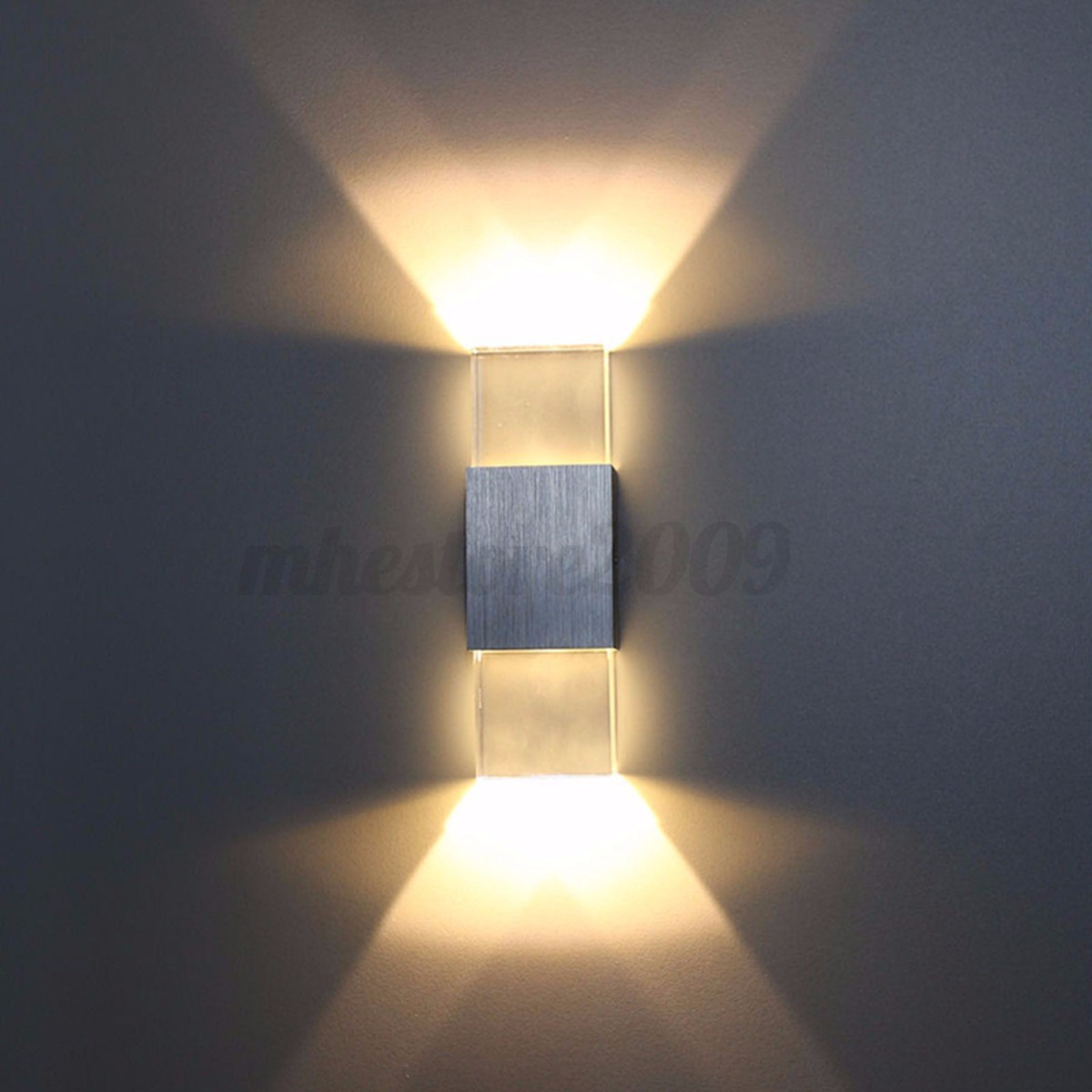 modern 2w led wall light up down lamp - Wall Light Fixtures For Bedroom