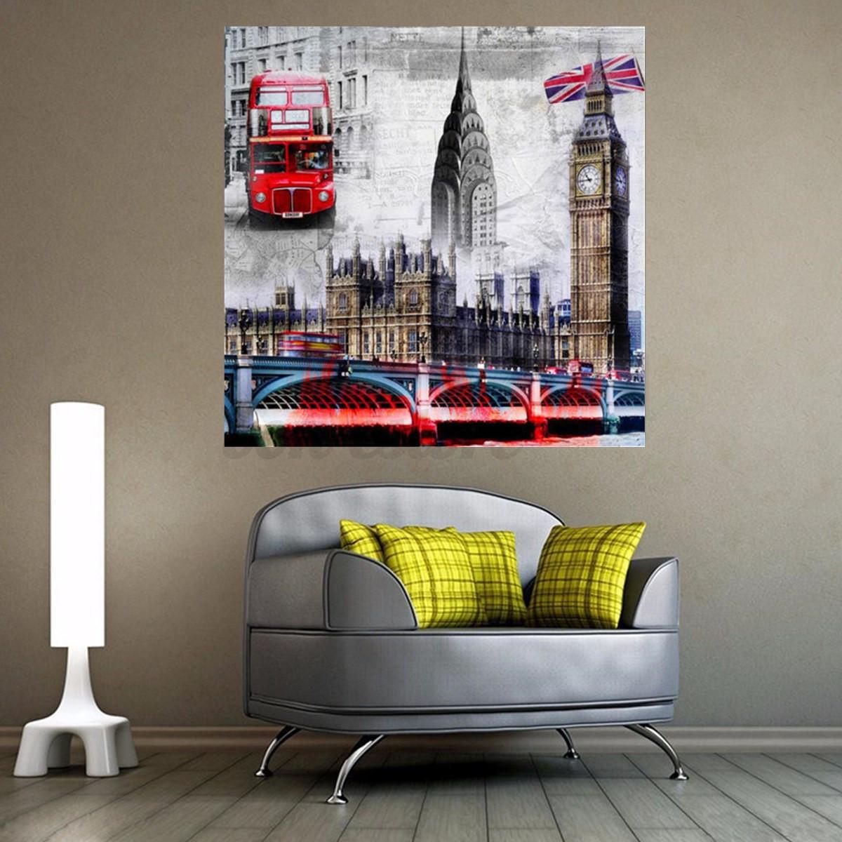 5d Diamond Painting Diy Handmade Tower Bridge Embroidery