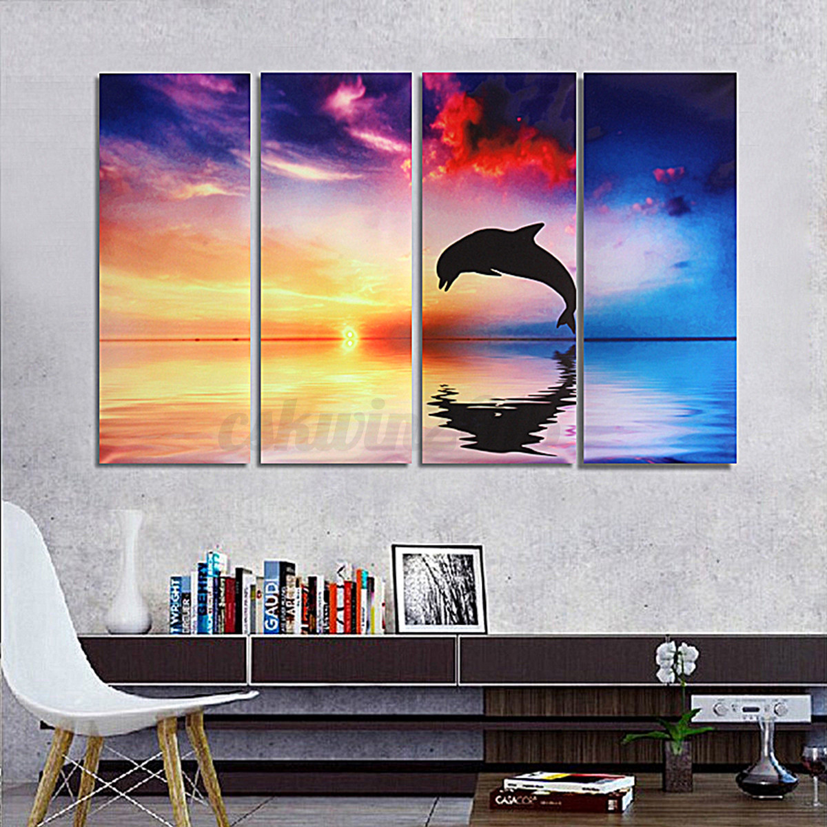 Unframed modern canvas oil painting abstract art gift for Canvas wall mural
