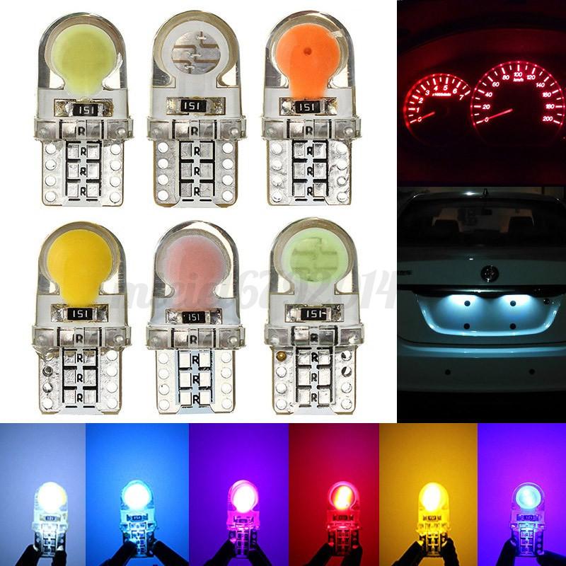 2X T10 194 168 501 W5W COB 8 SMD LED Canbus Silica Bright License Light Bulb UK*