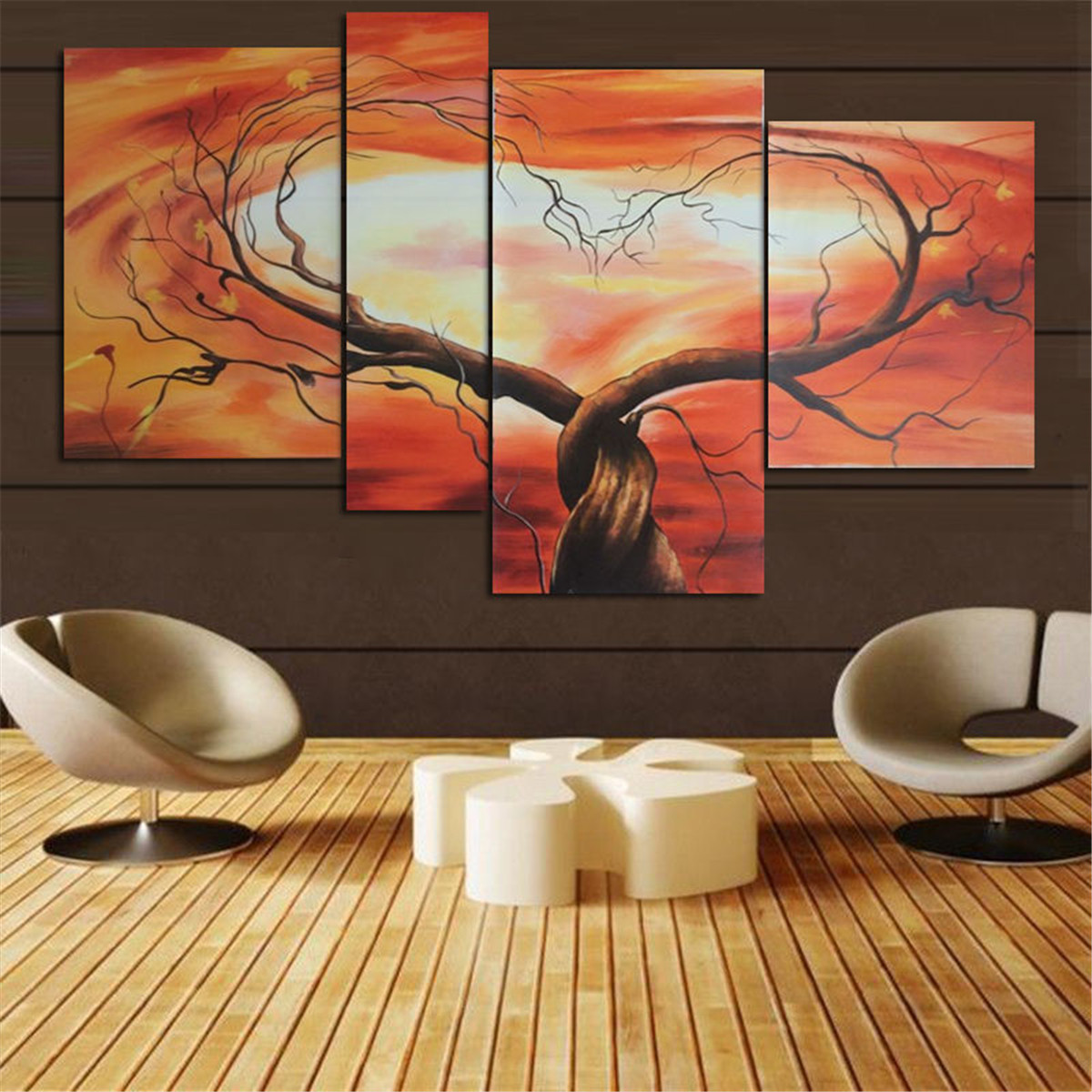 Flower Modern Abstract Art Canvas Oil Painting Picture