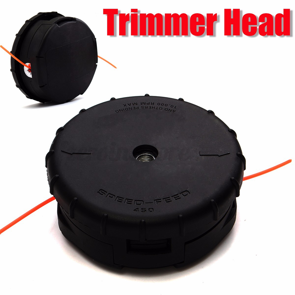 echo speed feed trimmer head instructions