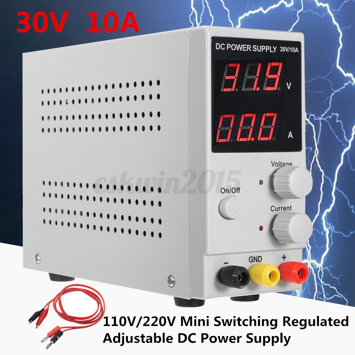 Adjustable 13 22v Regulated Power Supply Wiring Diagrams Dc 30v 10a Switching Lcd Acopian Radio Shack