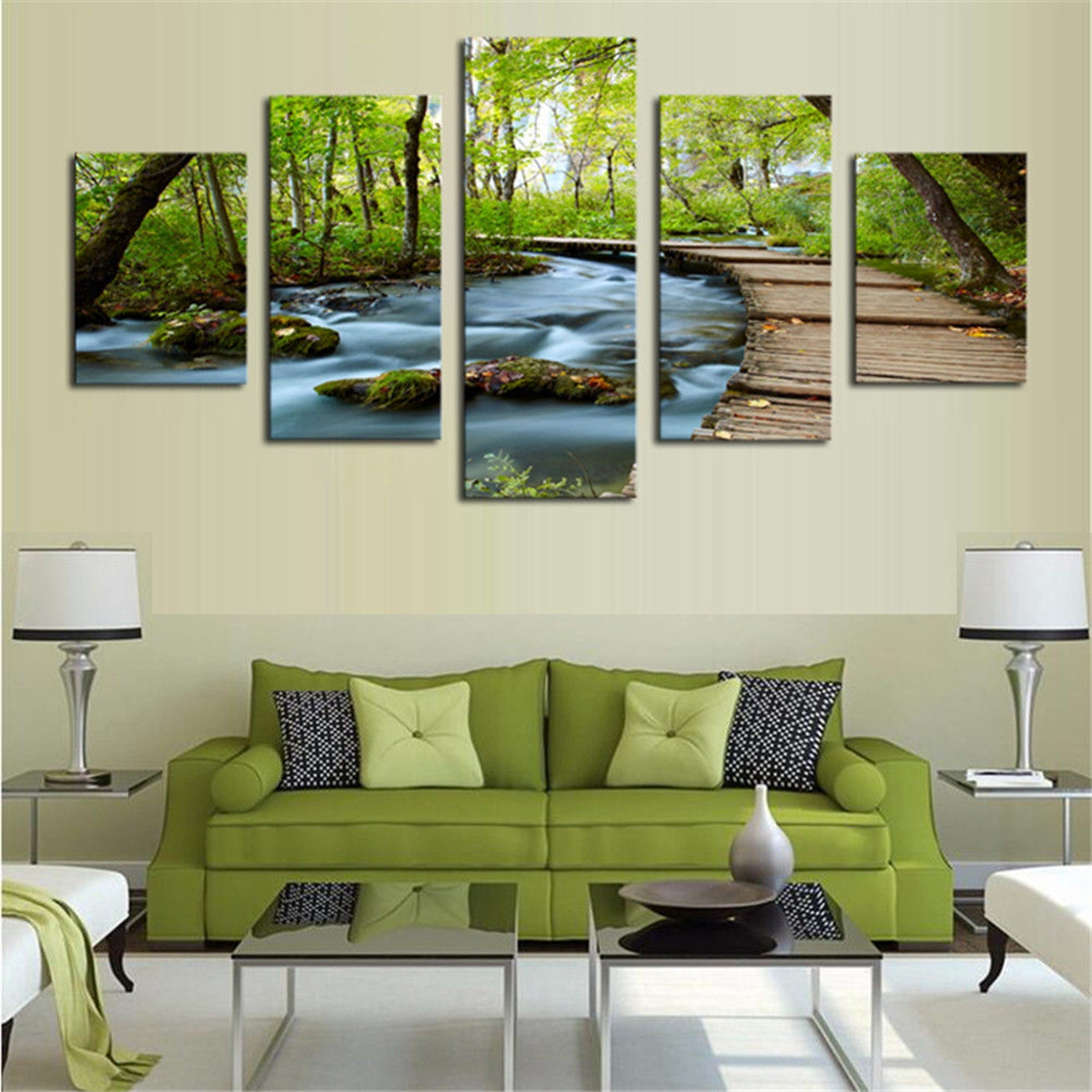 Large Modern Canvas Oil Painting Picture Print Wall Art Home Office Decor Ebay