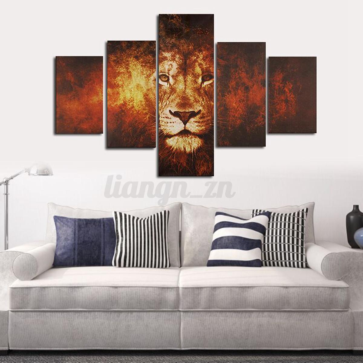 Superior No Frame Large Canvas Modern Home Wall Decor