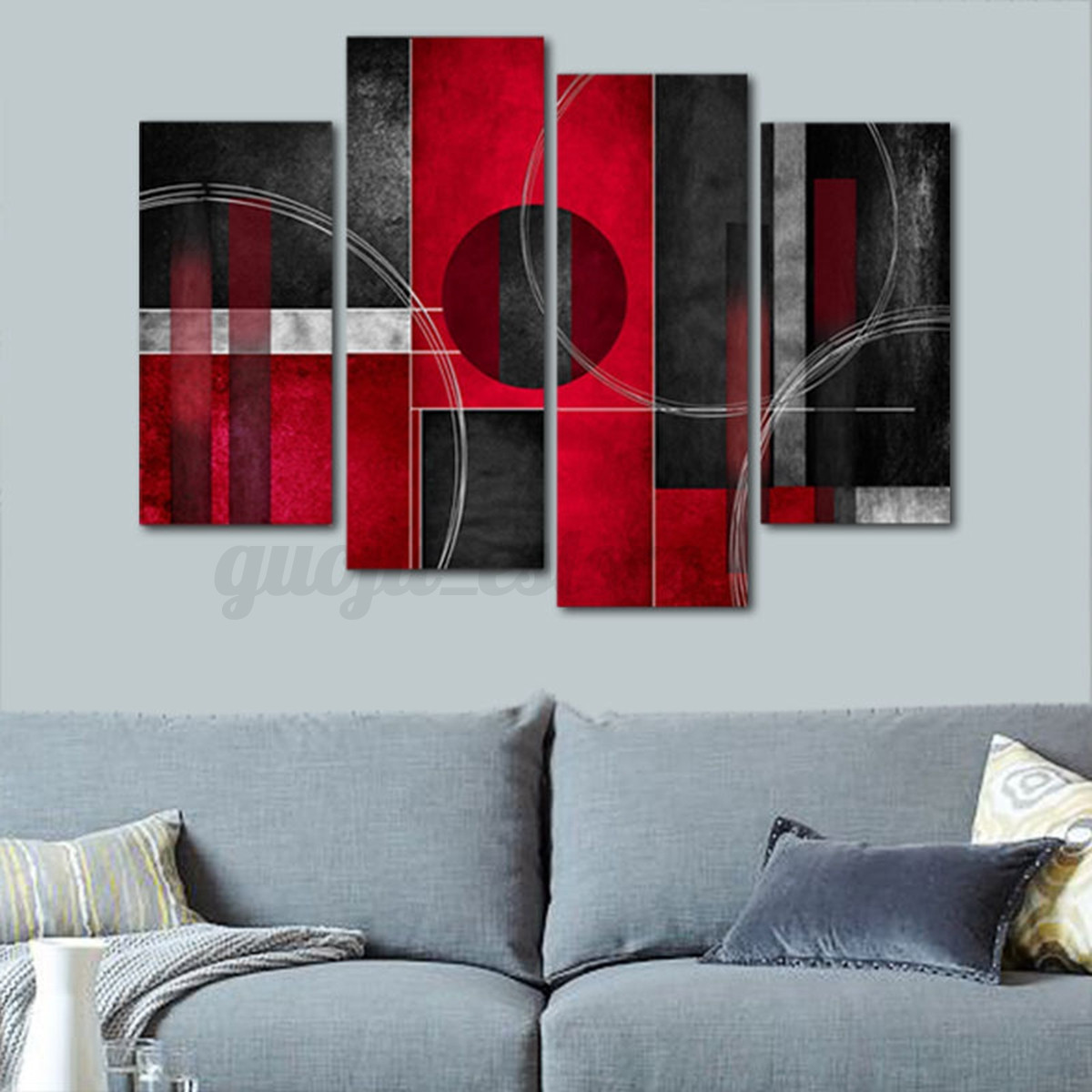Large Picture Modern Abstract Canvas Oil Painting Print