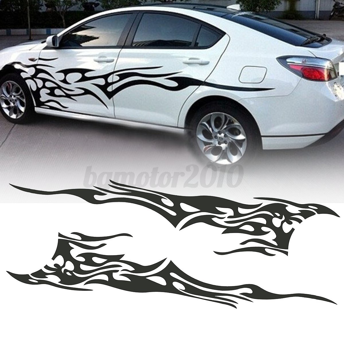 Pcs X Car Decal Vinyl Graphics Side Stickers Body Decal - Auto graphic stickersdiscount auto graphic decalsauto graphic decals on sale at