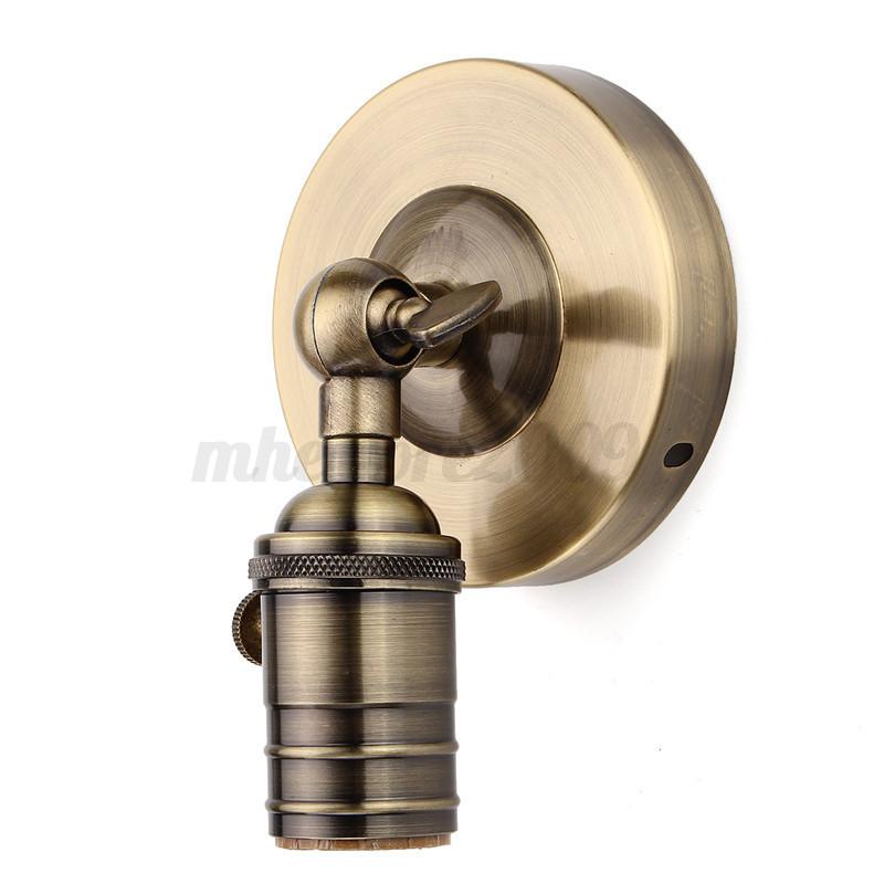 Vintage-Edison-E27-Ampoule-Retro-Douille-Support-Socket-Culot-Lampe-Applique-NF