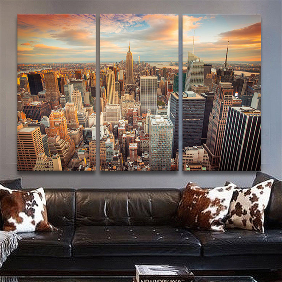 New York City Canvas Print Painting Picture Wall Art Decor