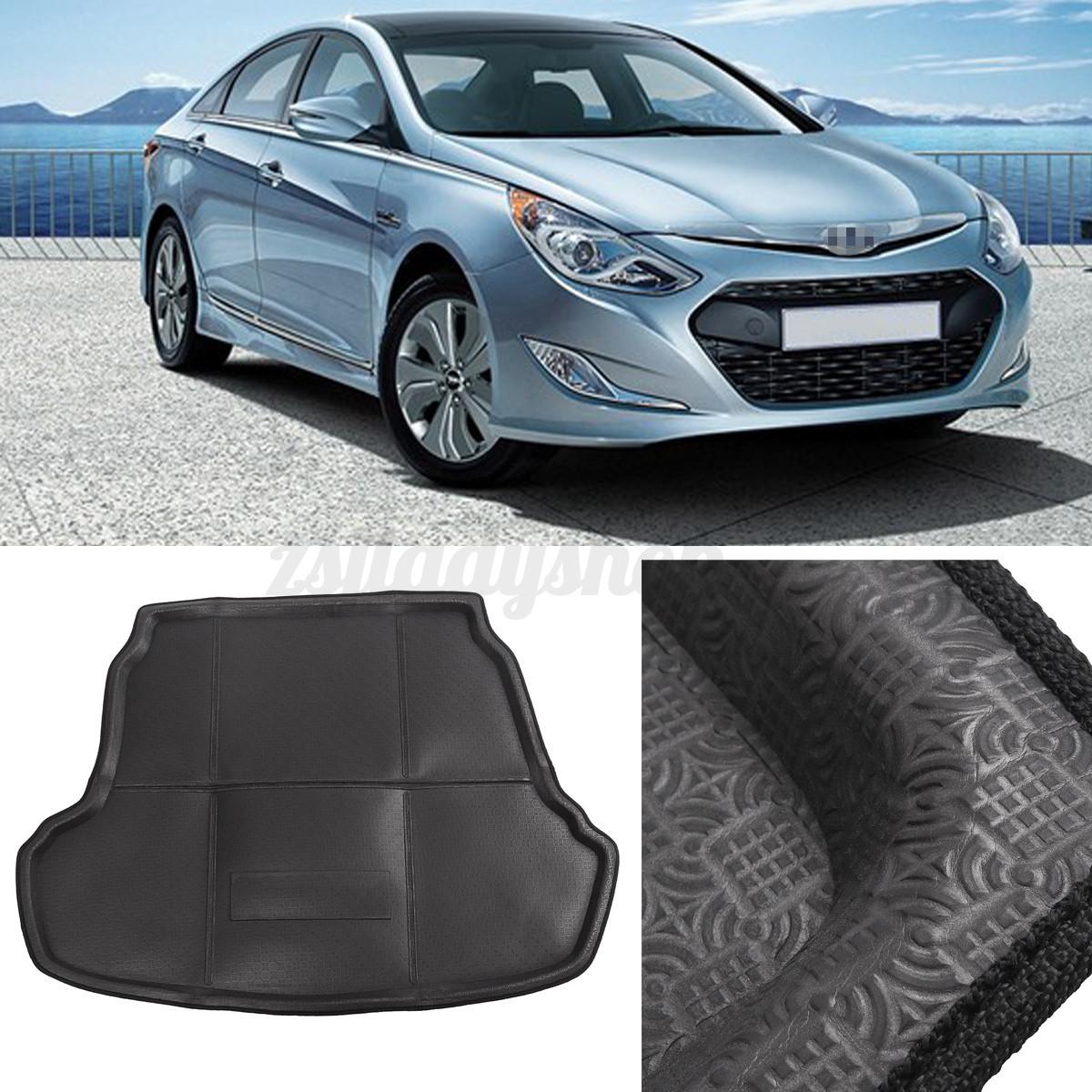 Hyundai Sonata Trunk: Car Boot Pad Cargo Mat Trunk Liner Tray Floor Mat For