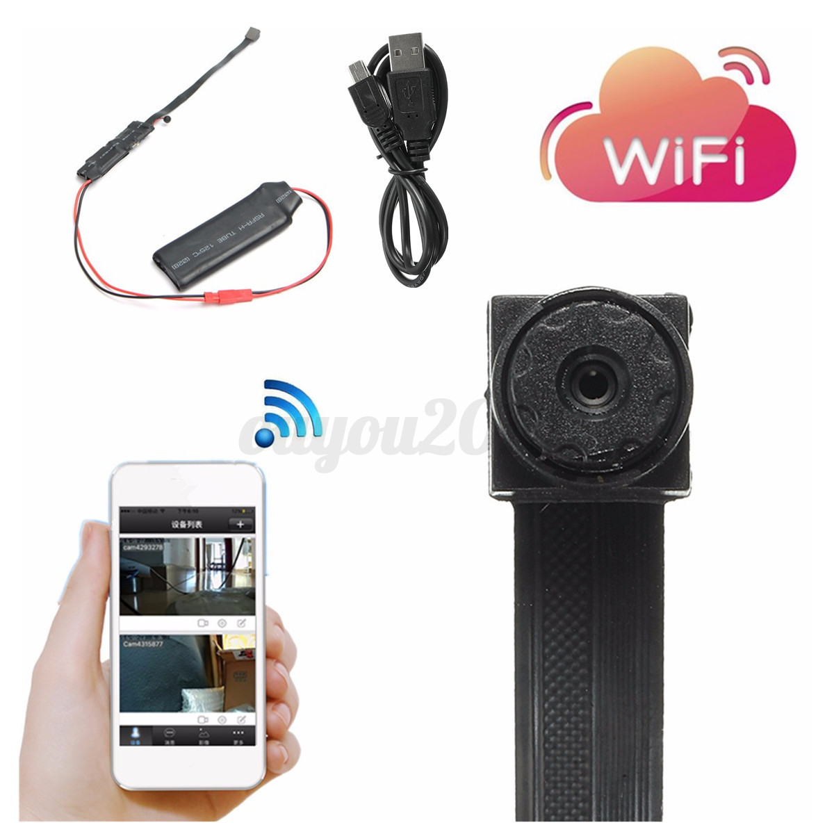 CCTV-IP-WLAN-WIFI-VERSTECKTE-KAMERA-MINI-SPYCAM-VIDEO-UBERWACHUNGSKAMERA-DVR