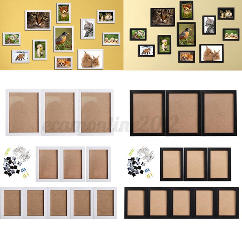 11 pcs cornice legno da appendere cornici colorate da for Stampe da appendere