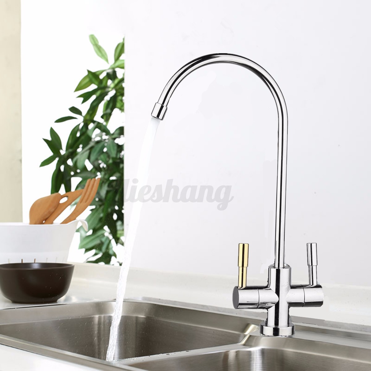 1 4 39 39 Kitchen Reverse Osmosis System Ro Drinking Water Filter Faucet Under Sink Ebay