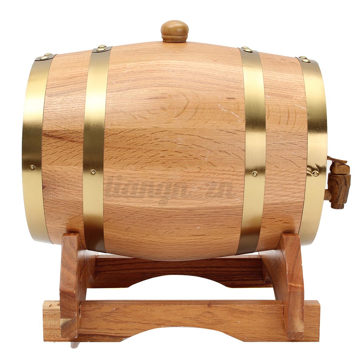 10l litres tonnelet tonneau tonneaux bois f ts vin baril bi re boisson robinet ebay. Black Bedroom Furniture Sets. Home Design Ideas